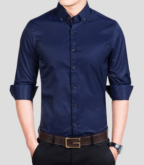 Man Shirts Glasses Style Five color