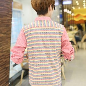 Men Long shirts style for holiday go for a walk