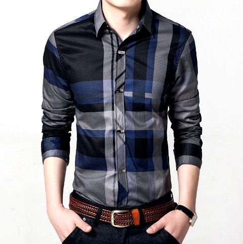 Men shirt Square style for party work wedding